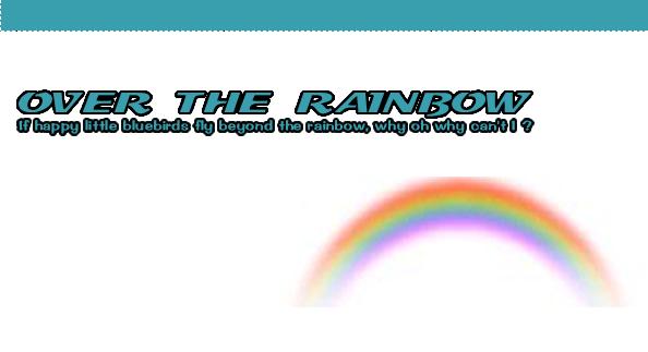OVER THE RAINBOW 【 にじかなたぶろぐ 】